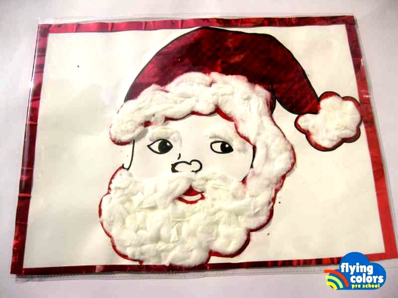 Flying Colors Arts Crafts Santa Small Series 1 2
