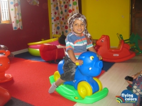 Mitansh having ride