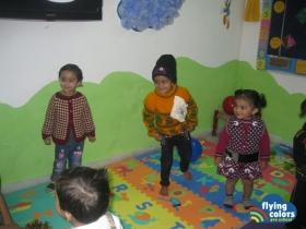 Kids dancing ...