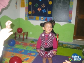 Nidhi making a pose